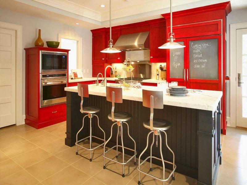 Red-Kitchen-Heim-Decor