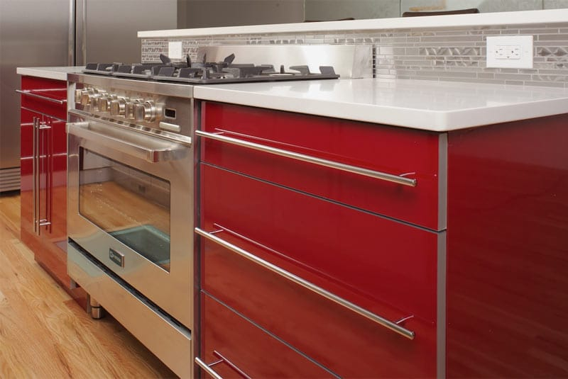 Red Kitchen Cabinets Dos And Don Ts Home Dreamy