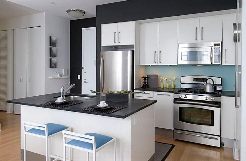 Black-and-White-Kitchen-Decoist