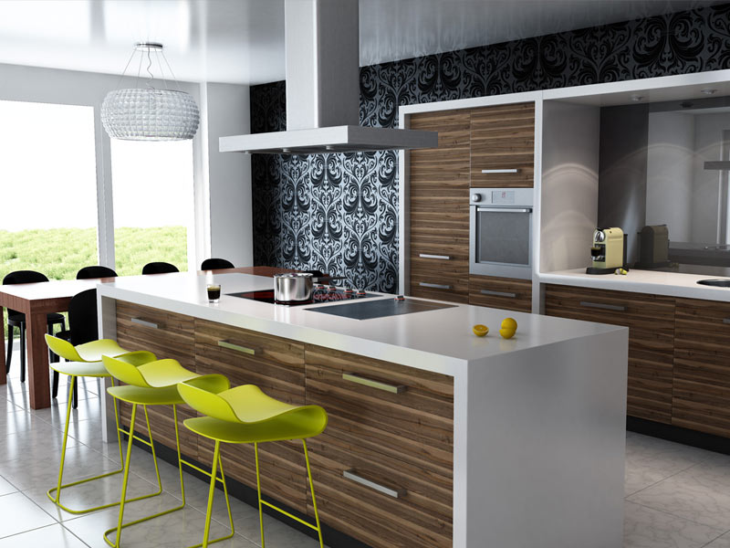 Contemporary Kitchen Style Beetree Homes