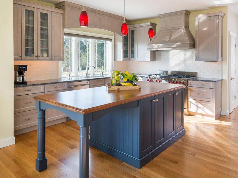 25 kitchen island ideas home dreamy for Making a kitchen island from cabinets