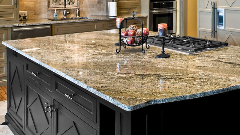 Kitchen countertop materials from granite to laminate for Engineered quartz countertops