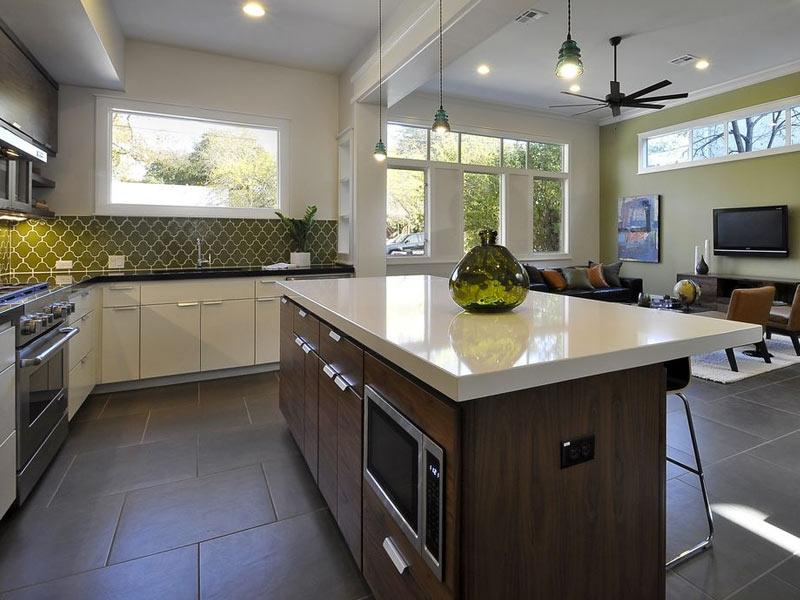 Kitchen-Island-with-Microwave-Fireclay-Tile