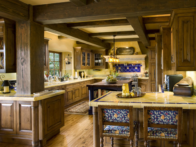 Mediterranean-Kitchen-Porch-com