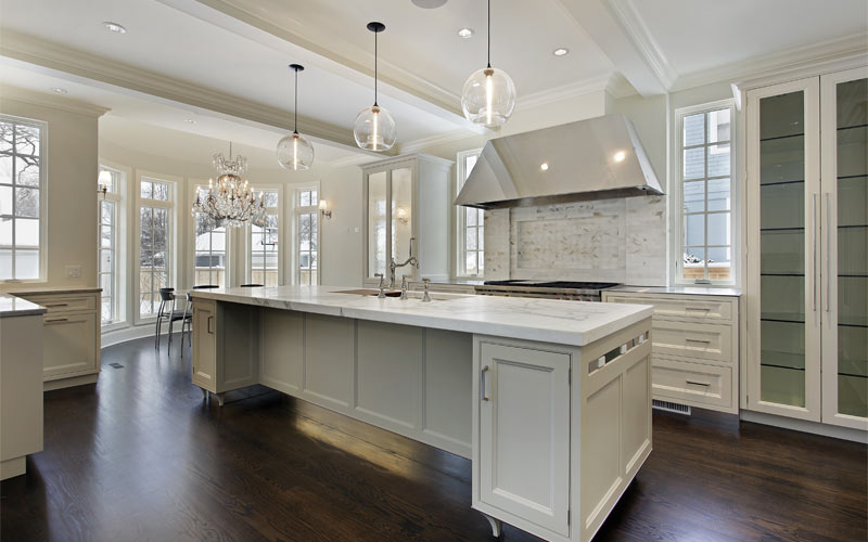 Neutral-Kitchen-Island-Granite-Brampton-Kitchen