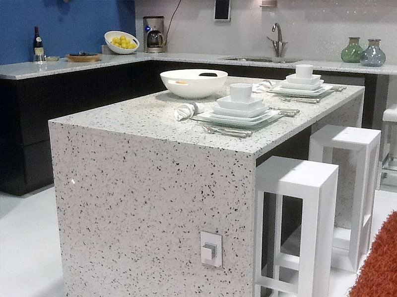 post consumer products recycled countertops come in in a wide range of ...
