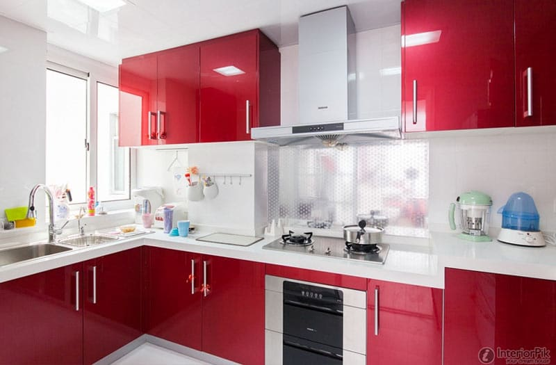 Red-Kitchen-Design-InteriorPik