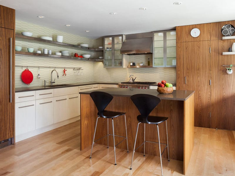 Kitchen Island Narrow Space