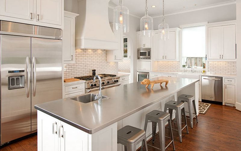 Stainless-Steel-Kitchen-Counters-Holland-Rogers