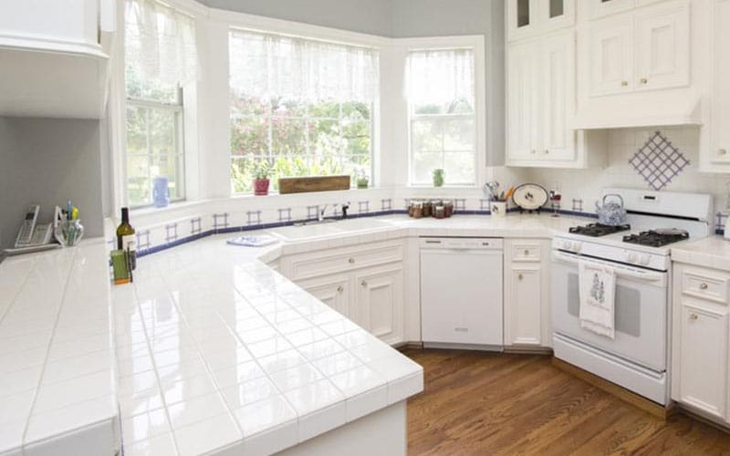 Tile Countertop Materials : Kitchen Countertop Materials: From Granite to Laminate - Home Dreamy