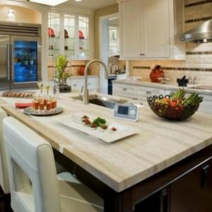 Kitchen Countertop Materials: From Granite to Laminate