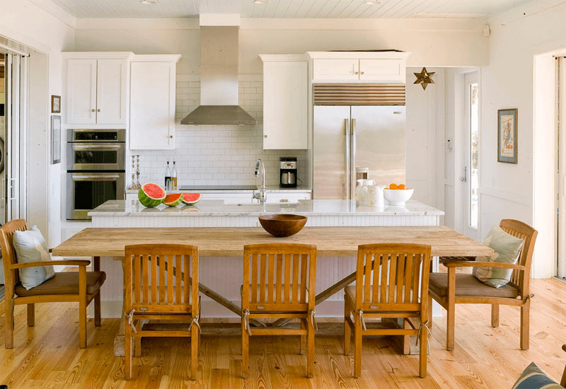 Two-Tier-Kitchen-Island-With-Table-MBG Homes