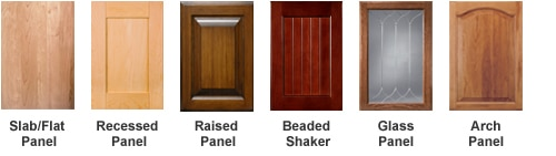 cabinet door styles home depot