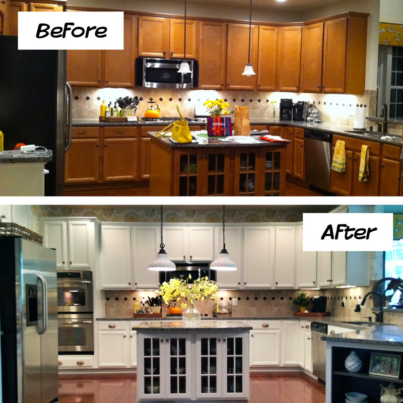 How To Refinish Kitchen Cabinets Yourself: Kitchen Cabinet Guide