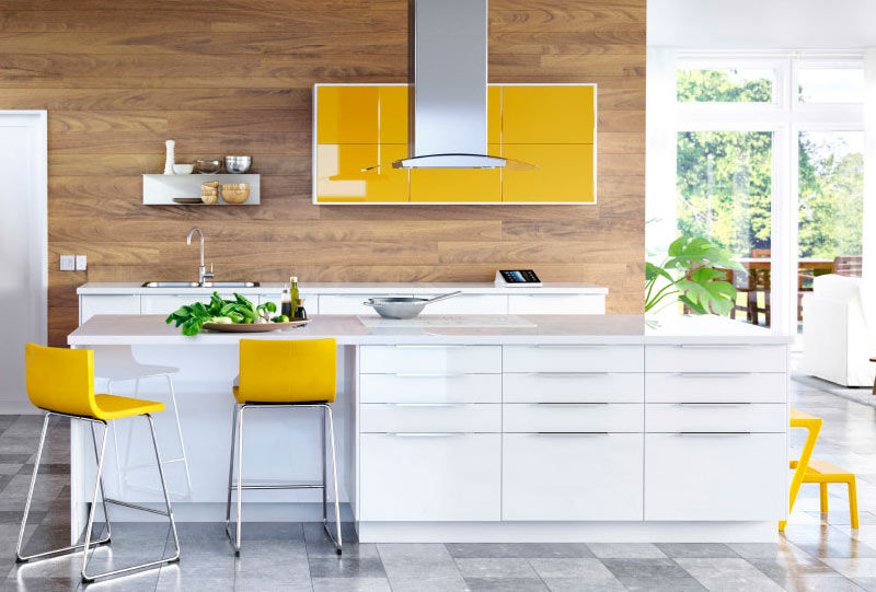 Ikea High Gloss Kitchen