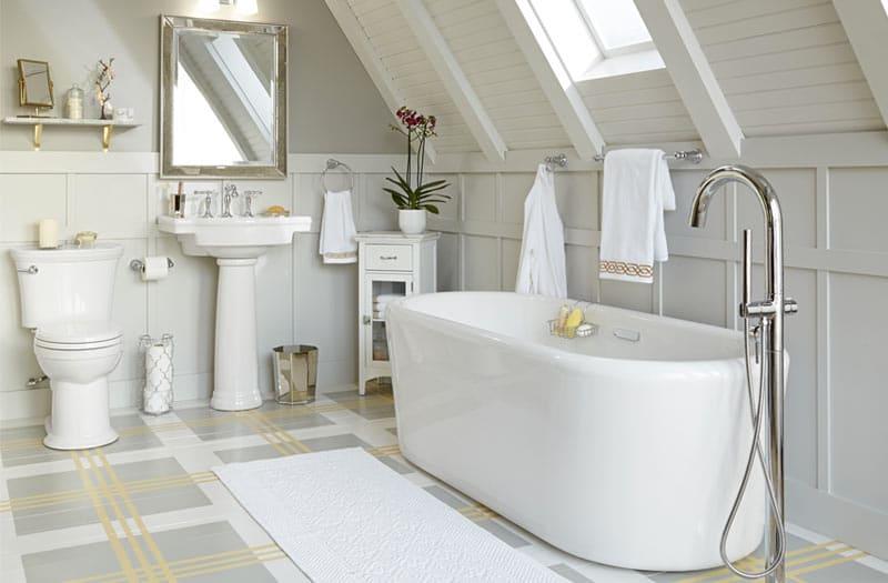 Pedestal-Sink-Freestanding-Tub-American-Standard