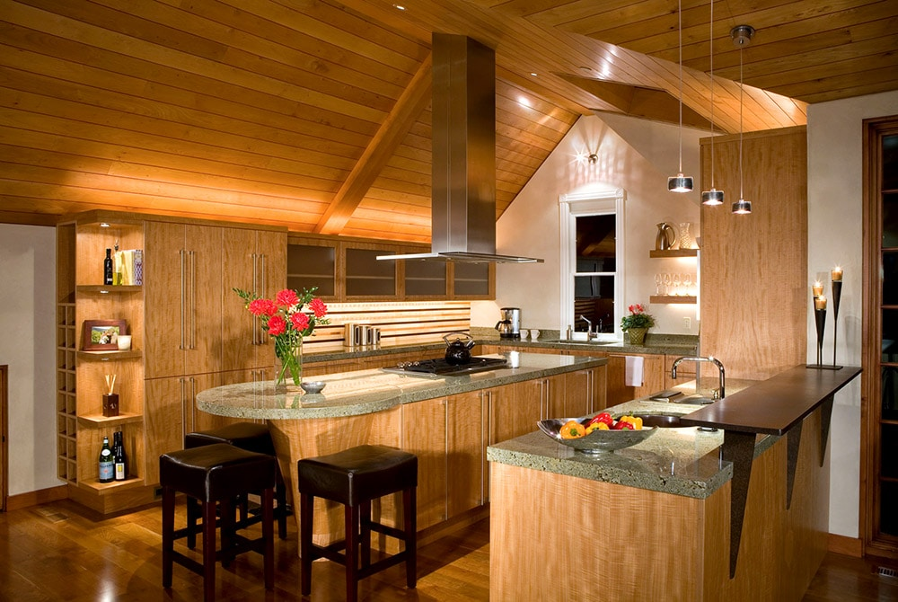 45 dream kitchen remodel pictures home dreamy for Chalet kitchen designs