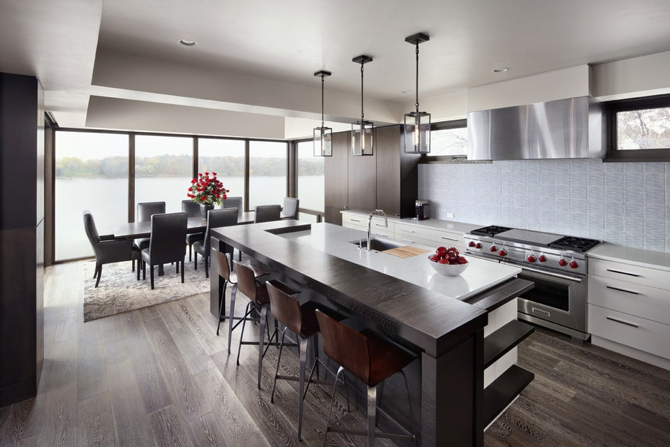 Contemporary-Galley-Kitchen-Robert-G-Sinclair-Architecture