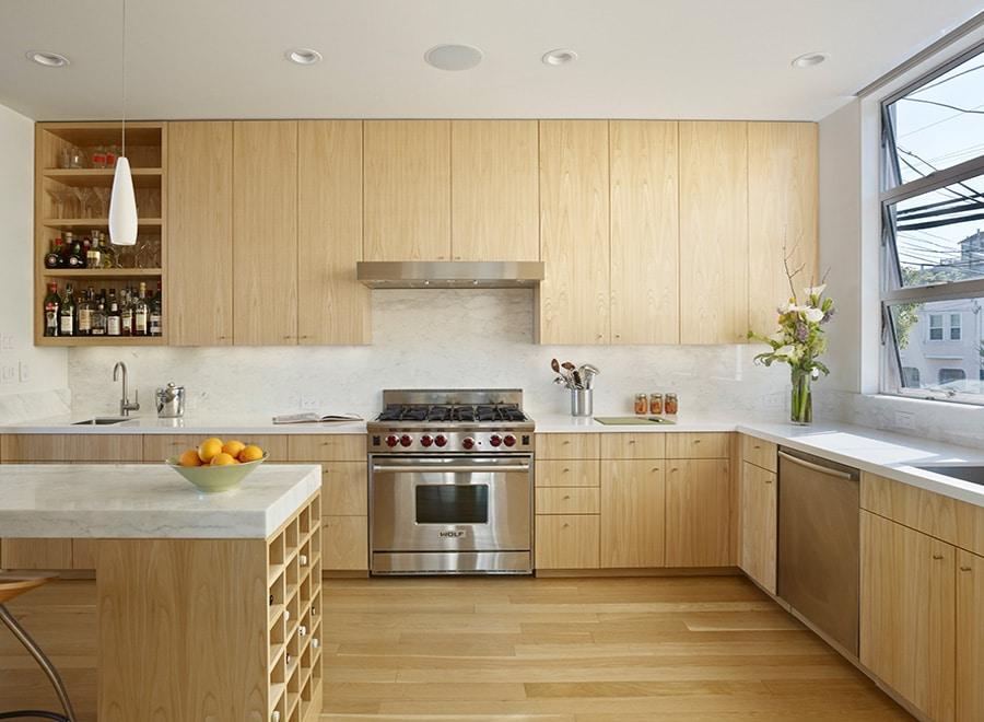 Custom Shelving Kitchen Bar Nick Noyes Architecture