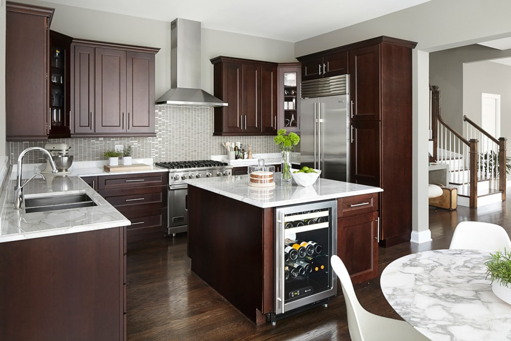dark mahogany kitchen cabinets 45 kitchen remodel pictures home dreamy 14478