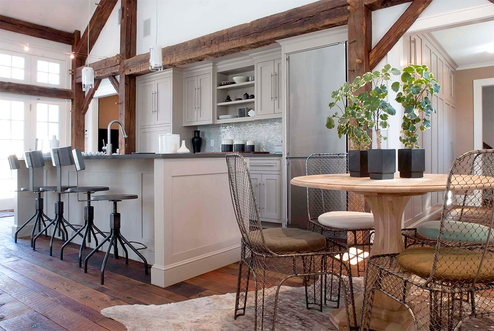 Rustic-Kitchen-with-Wooden-Beams-Top-Kat-Photo