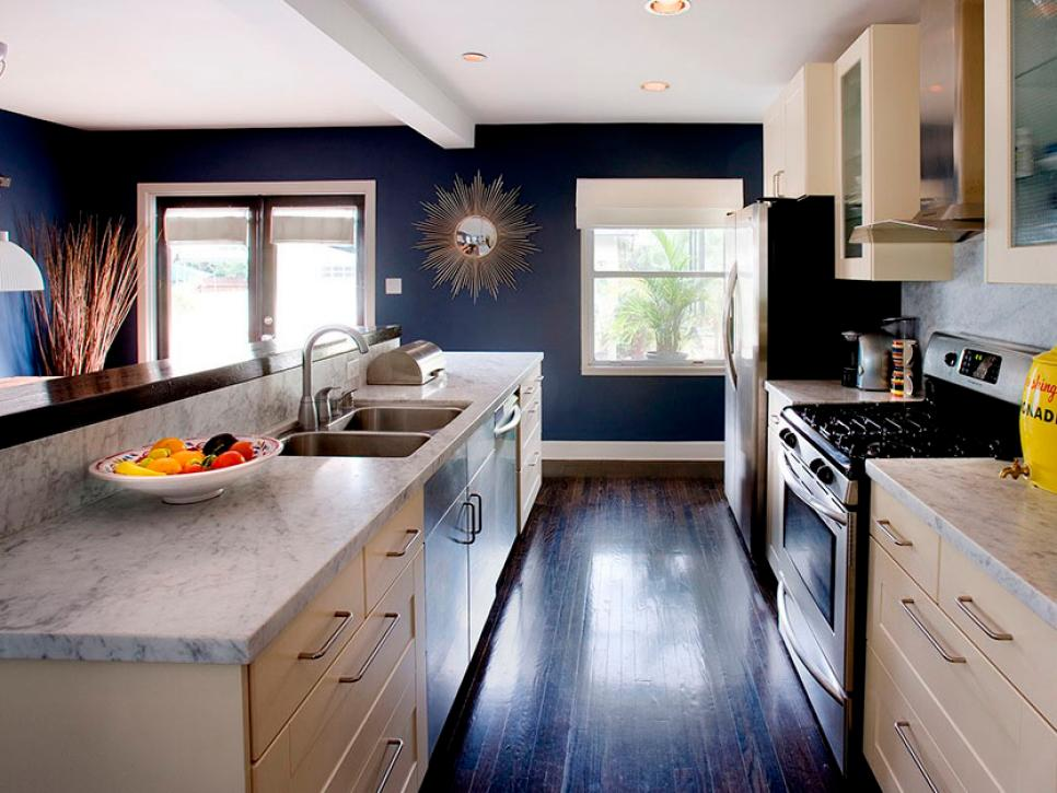 Galley Kitchen Remodel With Island Erica Islas