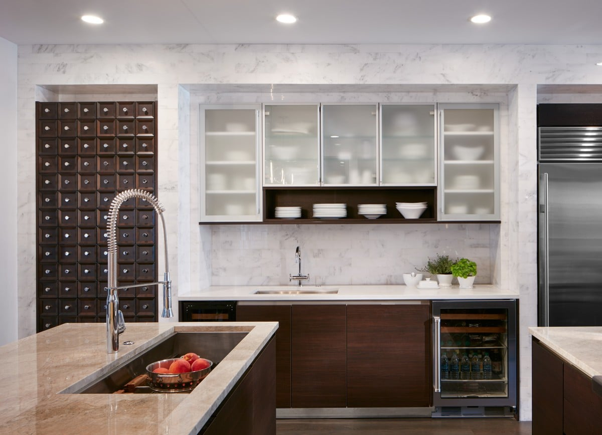 marble tile in kitchen 27 kitchen backsplash designs home dreamy 7373