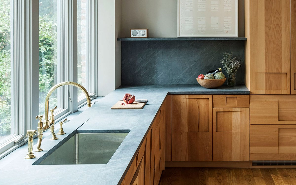 Soapstone Kitchen Backsplash