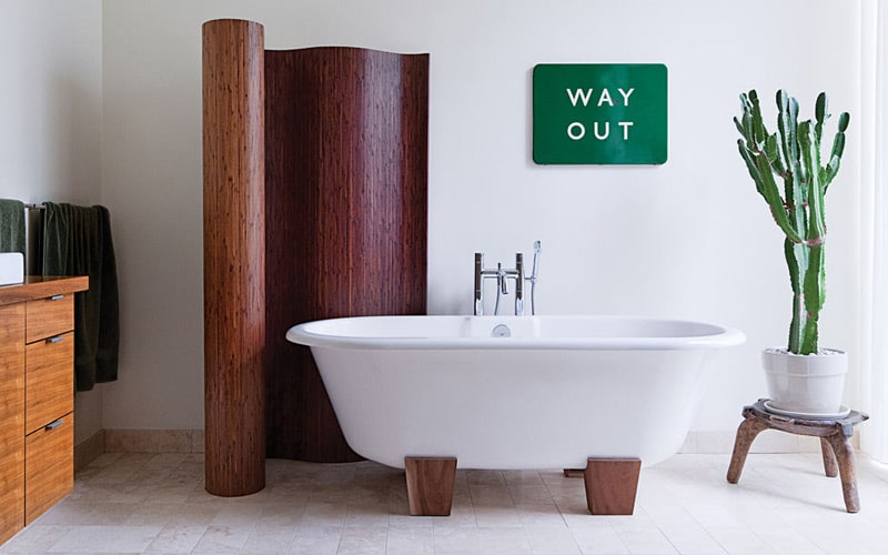 Victoria-Albert-Freestanding-Tub-with-Wood-Feet-Dwell