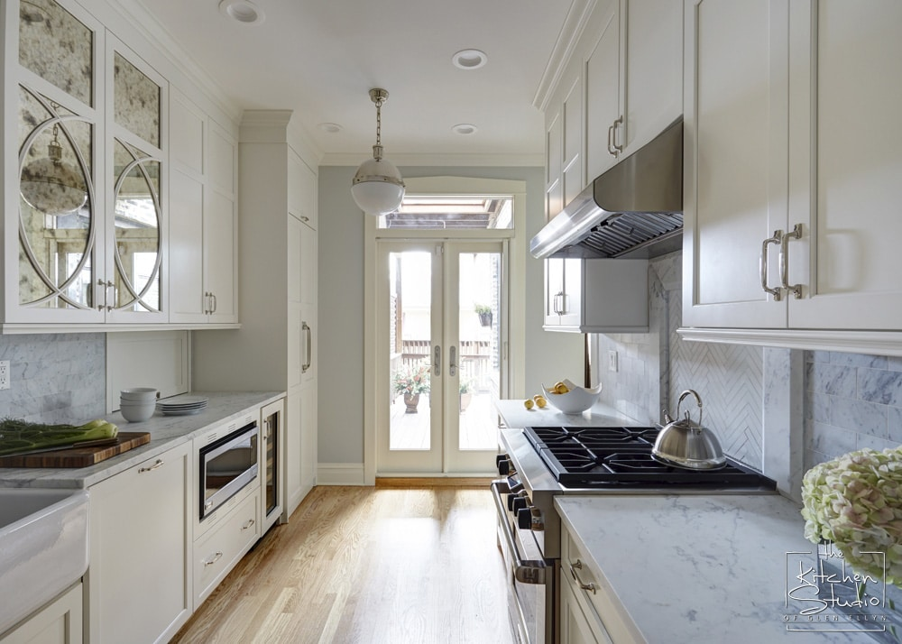 12 Galley Kitchen Remodels  Home Dreamy. B&q White Kitchen Doors. Kitchen Crown Molding Ideas. Kitchen White And Brown. Small Kitchen Make Overs. Kitchen With Large Island. Kitchen Islands With Wheels. White Kitchen Cabinets Blue Walls. Square Kitchen Islands