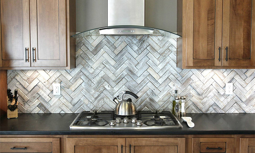 Gray Kitchen Cabinets Ideas With Backsplash