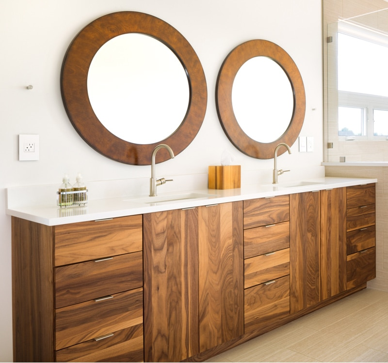 21 bathroom vanities and storage ideas for How to make a bathroom vanity out of furniture