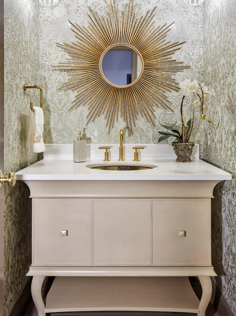 Vintage-Powder-Room-Vanity-Duet-Design-Group