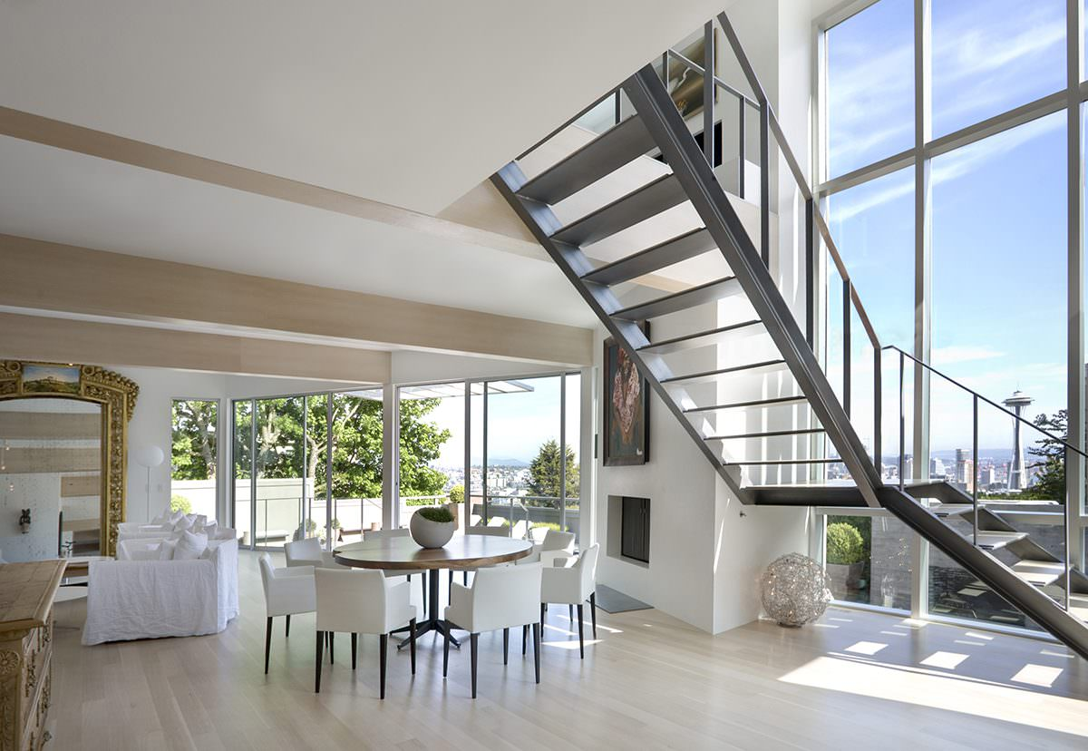 12 Modern Staircases And Railings