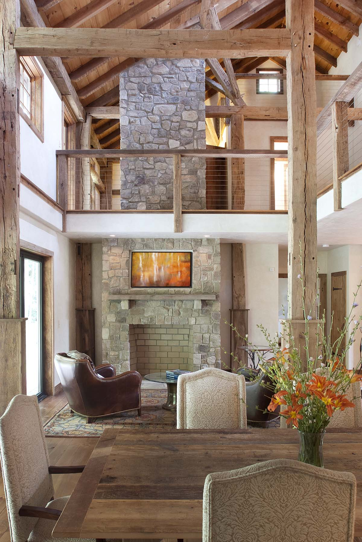 stone-fireplace-two-story-high-ceiling-lodge-top-kat-photo