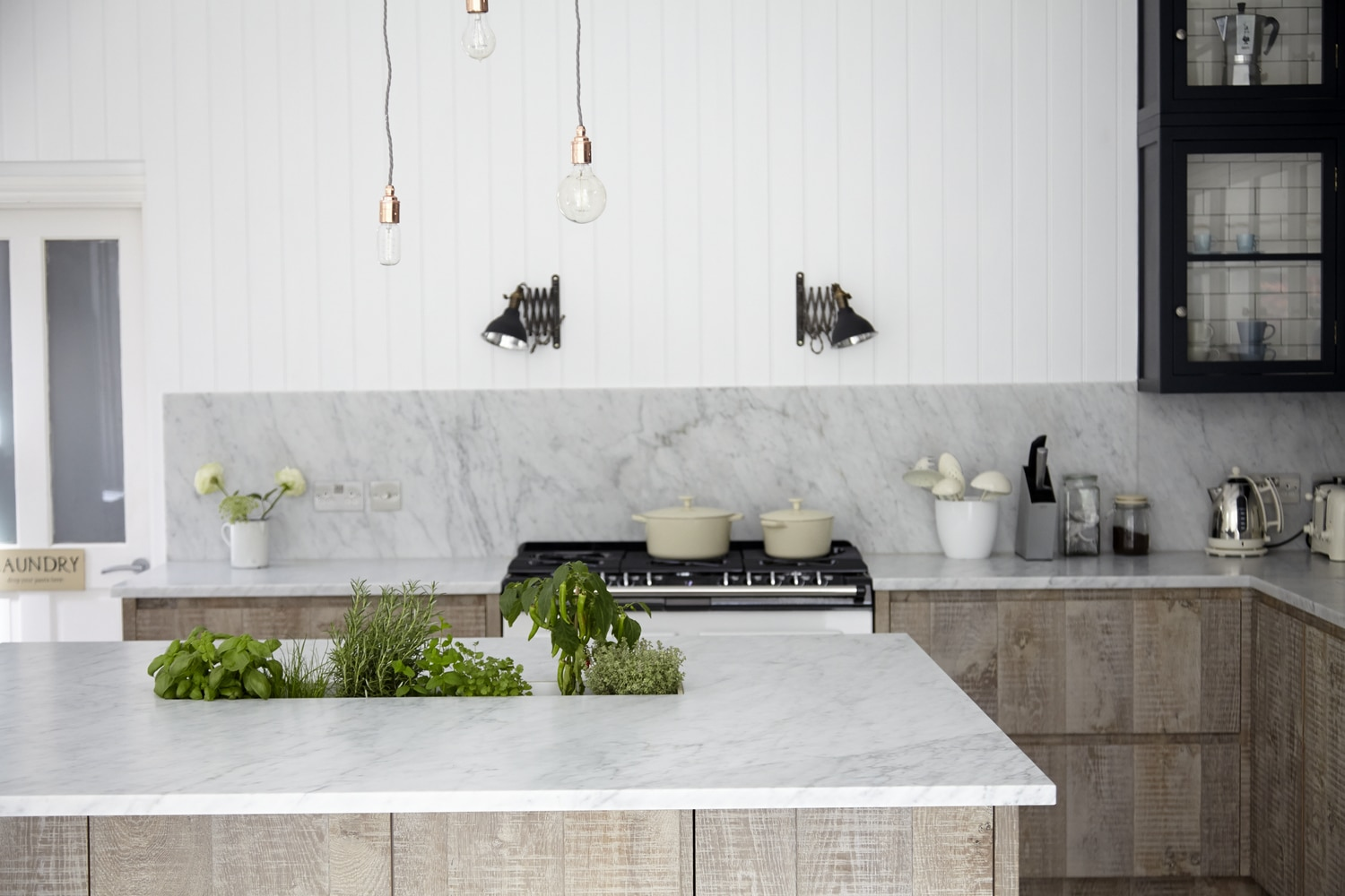 country-kitchen-lighting-rustic-cabinets-blakes-london